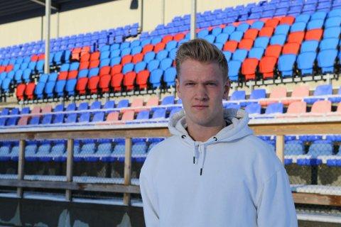 NYE UTFORDRINGAR: Even Vetås er klar for å utvikla seg i Florø Fotball.