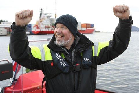 Leif Stavøstrand førebur lansering av ein utanbords el-motor tilsvarande 150 hk til sommaren.