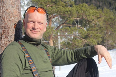 FRILUFTSMANN: Per Arne Sæterlid i STIF er pådrivar i skigruppa i STIF, som skal drifte skianlegget for Zephyr på Guleslettene.