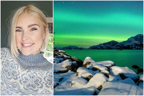 UT MOT HAVET: Lillian Herland har tatt bildet frå Steinsund i Solund, ut mot Liasundet.