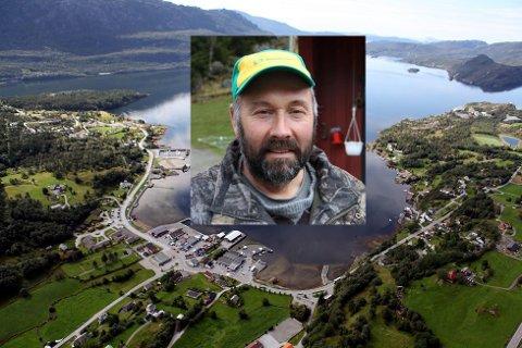 STØTTAR EIKEFJORD: Sp-politikar Jan Arve Midtbø meiner det er urettferdig at Eikefjord skal ha høgare eigedomsskatt enn Måløy sentrum.