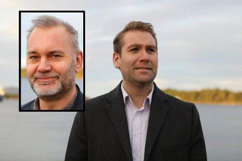 PÅ LAG: Jacob Nødseth (V) har vist å kunne samarbeide godt med ordførar i Kinn, Ola Teigen (Ap) og Høgre i posisjon.