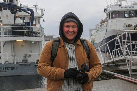 STARTAR I FLORØ: Isak Nesse (24) jobbar med reklamefilm og er utdanna på Westerdals. No startar han for seg sjølv i heimbyen.