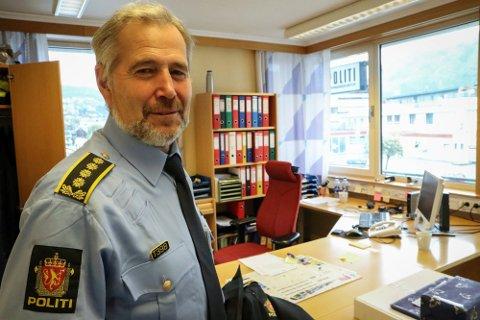 ÅTVARAR: Politisjefen i Sogn og Fjordane meiner det er noko som er bra med rusreforma, men er redd for at rekrutteringa til rus vil auke med ein avkriminalisering.