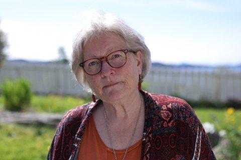 TRENG FLERE: Ingrid M. Lorentzen  meiner det er på høg tid at Kinn kommune tilset fleire hender i helsesektoren.