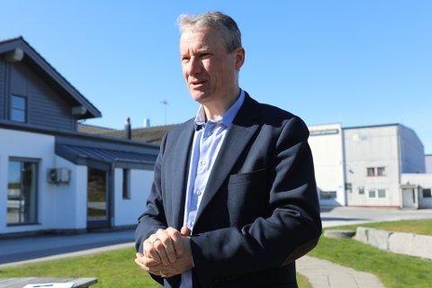 SVAK AUKE: Olve Grotle, stortingskandidat for Høgre i Sogn og Fjordane har enno ikkje fått luft under vengene for partiet sitt. No satsar han på oppdrift gjennom sommaren.