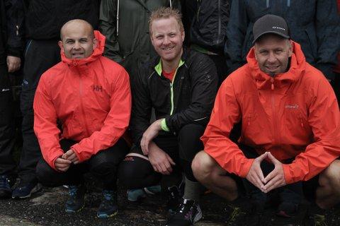 STERK TRIO: F.v. Anders Alvaro Nydal, Frode Torvanger og John Sverre Aarseth.