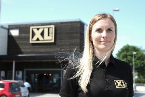 SJEF: Lill Therese Kristiansen er ny avdelingsleiar for dei 18 tilsette på XL-Bygg Florø.