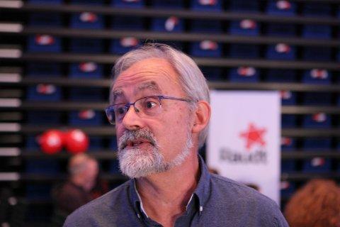 STOLT: Han er stolt av jobben som er gjort, Geir Oldeide. Raudt gjer eit historisk bra val.