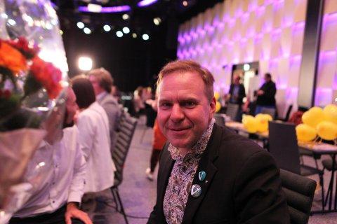 KLAR: Alfred Bjørlo og Venstre vann utjamningsmandatet frå Sogn og Fjordane.