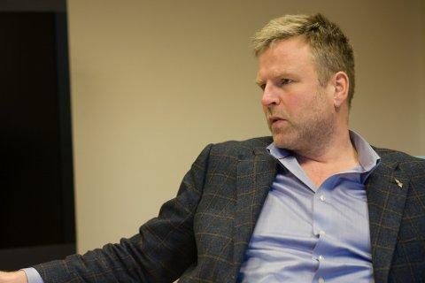 KLAR MELDING: Konsernsjef Leif Belsvik i NorTekstil meiner næringslivet lokalt vil ha god nytte av kompetansen NHO spør etter i utlysinga. – Og når dei signaliserer at dei ønskjer å bygge kompetanse i Florø, så forventar vi at det gjer det, også.