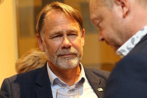 KLART FOKUS: Leiar i Kinn Høyre, Bjørn Hollevik fortel støtta av gruppeleiaren deira i denne saka har vore det viktigaste.