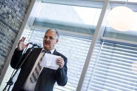 Rektor ved Høgskulen i Sogn og Fjordane, Rasmus Stokke.