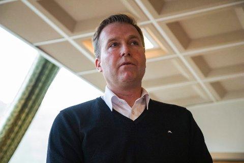 FØREBUDD: Stig Engen, oppvekstsjef i Høyanger kommune, seier at dei er godt rusta for å setje i gong digital undervisning.