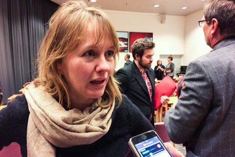 Gunhild Berge Stang er fylkesleiar i Sogn og Fjordane Venstre.