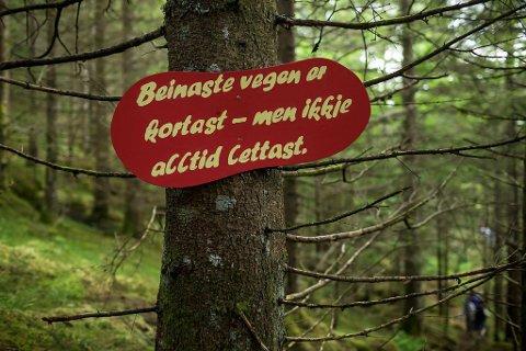 Den nynorske fabelstien er eit av prosjekta knytt til Nynorskbyen.