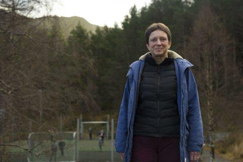 REKTOR: Anne Erstad er rektor på Våge skule. Ho har ikkje søkt stillinga som leiar for både skulen og barnehagen som blir oppretta frå kommande haust.