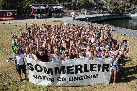 Natur og ungdom sin sommarleiren i 2014 blei halden i Fredrikstad, men i sommar kjem dei til Sunnfjord.  Foto: Tonje Sofie Eriksson