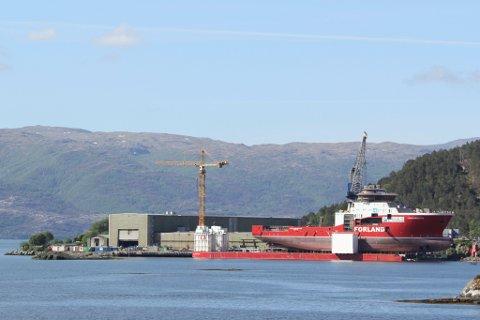 Havyard Ship Technology AS i Leirvik i Hyllestad kommune.