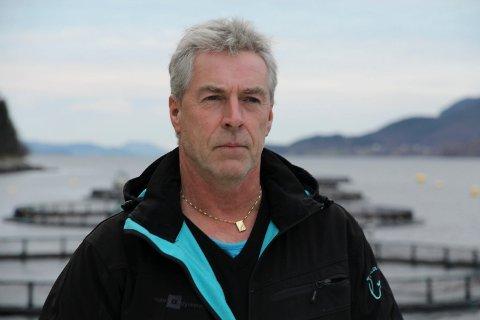 GODE TIDER: Ingvar Osland tente vel 3,8 millionar kroner på Flokenes Fiskefarm i fjor.