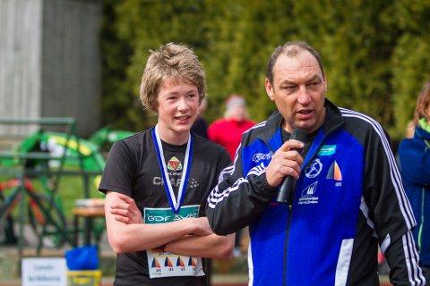 Vetle Uhr Hammersvik og Anders Ole Sunnarvik.
