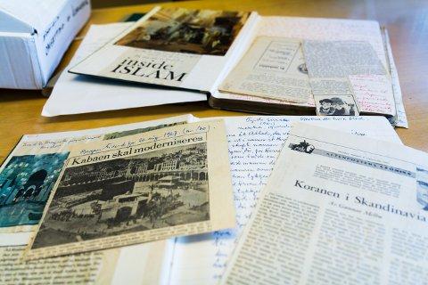 Oppdatert: Einar Seim fulgte med på nyheiter om islam på 60-talet.