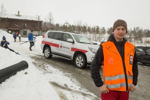 – Med mykje folk ute i terrenget er det både gledeleg og overraskande at vi ikkje har hatt alvorlege skadar denne påska, seier Joakim Hermansen som er operativ leiar i Førde Røde Kors Hjelpekorps.