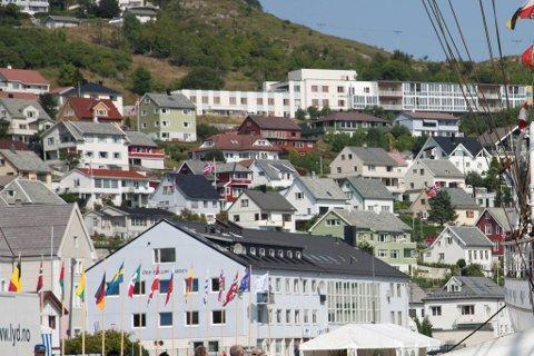 HELD FAST: Nær to tredelar av dei spurde  innbyggjarane i Vågsøy, ønsker seg ikkje inn i Kinn kommune.