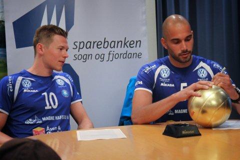Lars Fredrik Tvinde og Mathias Loftesnes er tilbake i Førde.