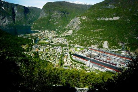 Hydro sitt verk i Årdal kan vise til 20 mill. i pluss etter årets tre månader.