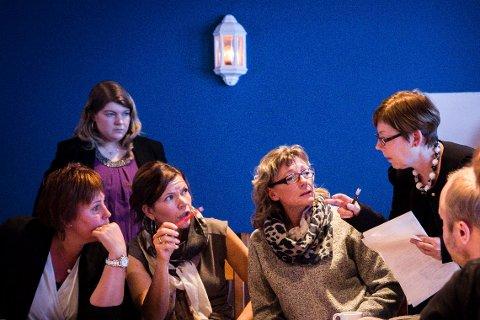 Kari Iren Birkeland (Sp), Mari Andrea Ness (Sp), Sølvi Irene Søgnen (Sp), Anita Eide Kvamme (Ap), Norunn Lunde Furnes (Krf)