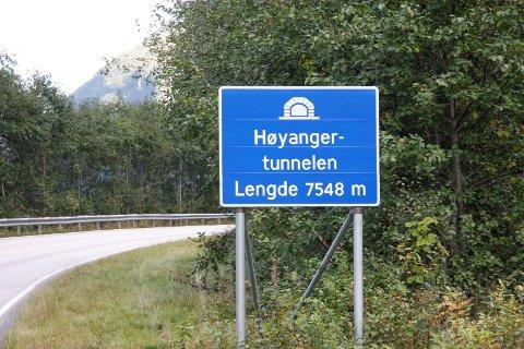Utbetringa av Høyangertunnelen tek til i oktober.
