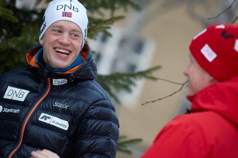 SJUK: Tarjei Bø slit med sjukdom. – Dette er Tarjei i eit nøtteskalm, seier idrettssjef Odd-Bjørn Hjelmeset.