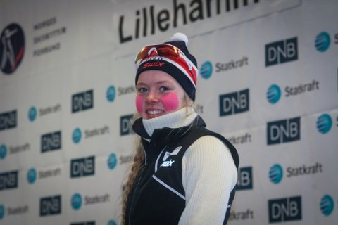 Karoline Erdal kunne smile breidt etter å ha vunne både sprint i Norgescupen og fellesstarten i junior-NM.