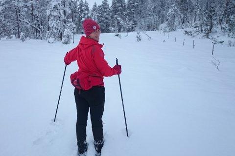 – Dette er god, gammaldags skigåing. Vi stressa ikkje. Det handla mest om å gå eit steg om gongen, seier Kalstveit.