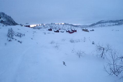 Kalstveit håpar at turen kan inspirere fleire til å ta skia fatt, og peikar på vakre naturopplevingar. Her ser vi Gjøsetstølen.
