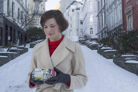 SØPPELFRI: Kristine Ullaland lever tilnærma søppelfritt, og ønsker å promotere ein grønare livsstil.