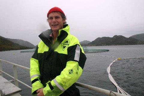 Ola Braanaas, oppdrettar Firda Seafood. *** Local Caption *** Ola Braanaas, oppdrettar Firda Seafood.