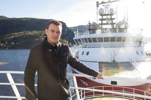 TØFF TID: Erlend Hatleberg og dei tilsette i New Havyard Ship Technology har vore gjennom ei krevjande tid.