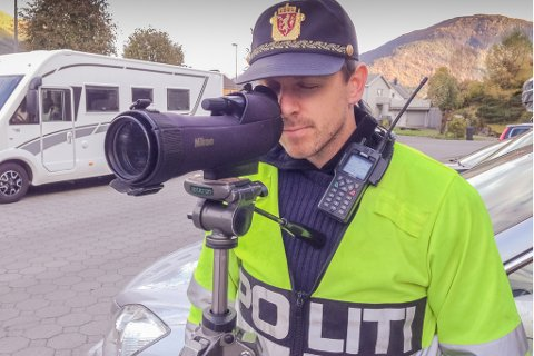 TOK MANGE: Kåre Toreid i Utrykningspolitiet.