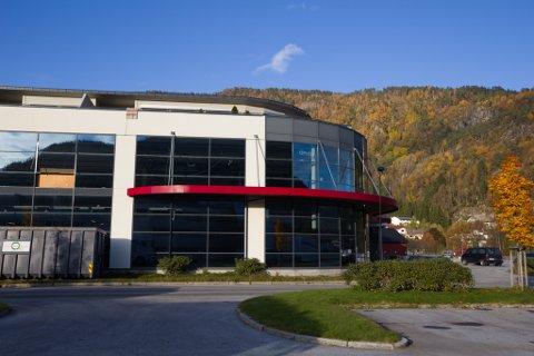 OPNAR I NOVEMBER: Her, i F20-bygget på Øyrane, kjem den nye Flisekompanibutikken.