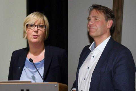Frida Melvær og Bjørn Hollevik