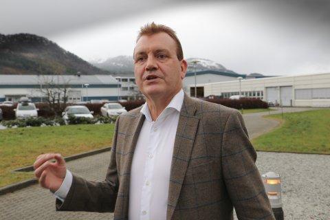I BOKS: John Helge Lunde kan konstatere at salet av aksjane i Nordek er i boks, og at det gir Gravdalsgruppa og andre aksjonærar i fylket ein pen gevinst.