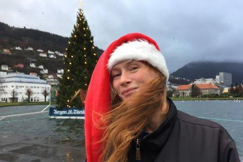Marion Solheim heim til jul
