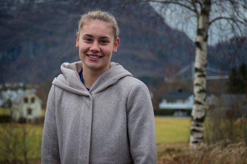 NY SIGNERING: Kjerstin Boge Solås går til ein ungarsk klubb. Det blei kjent laurdag.