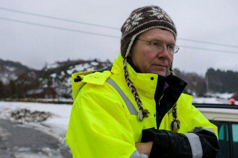 UREDD: Ivar S. Fossum, administrerande direktør i Nordic Mining, er ikkje uroa for at søknaden om nye kjemikal skal sette utsleppsløyvet i spel.