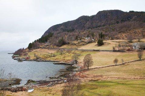 NYE GRUVEPLANAR: Engebøfjellet i Vevring.