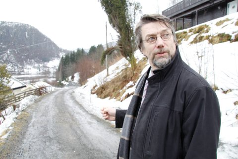 ARBEIDSRO: Naustdal-ordførar Håkon Myrvang (Ap) ber om ro om barnevernet (Arkivfoto)