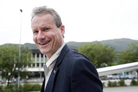 Førde-ordførar Olve Grotle (H) er ikkje klar for å legge til side draumen om Storkommunen