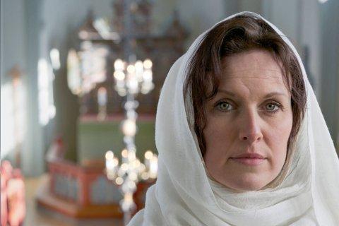 Idun Losnegård spelar Miriam i «Juleevangeliet – Miriam si forteljing».